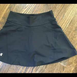 Under Armour Black Tennis Skirt Small